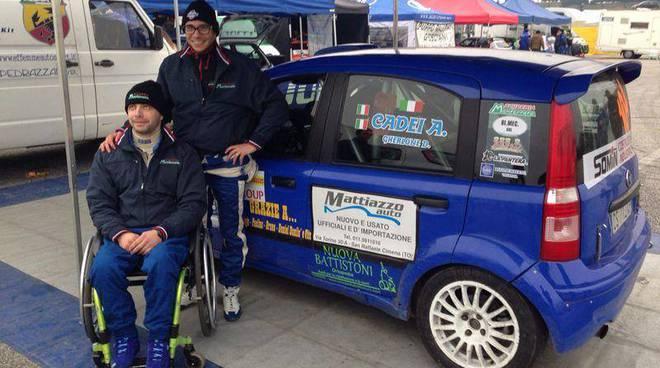Alessandro Cadei e Diego Gherlone portano a termine un difficile ma intimenticabile Rally di Franciacorta