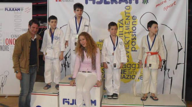 Il Ginnic Club Valminier in evidenza al Trofeo delle 6 Prove del Samurai di Judo
