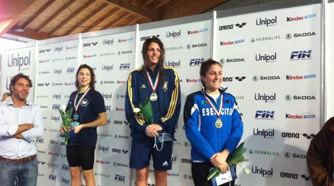 Ai Campionati Italiani Assoluti di fondo argento per Nicole Cirillo e bronzo per Alberto Brumana