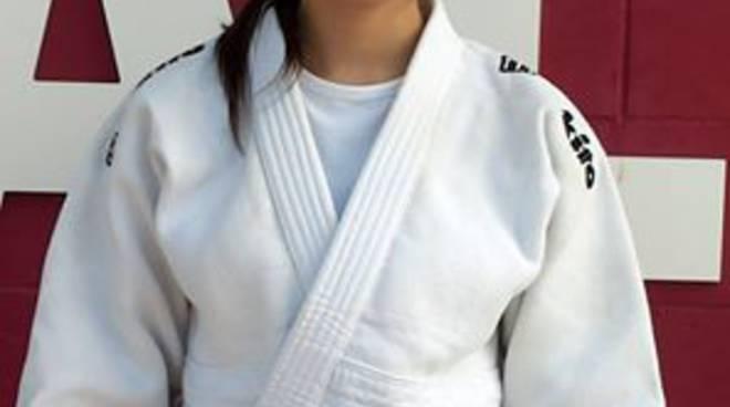 Giulia Gaviano della Polisportiva CrAsti nuova cintura nera di Judo