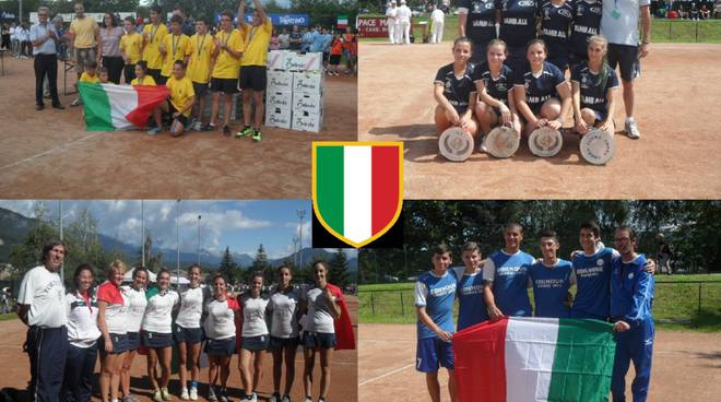 Ai Tricolori giovanili quattro titoli italiani per le squadre astigiane