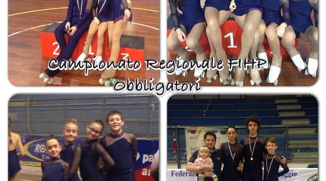 Ai Campionati Regionali Federali ricco bottino di medaglie per gli atleti della Blue Roller
