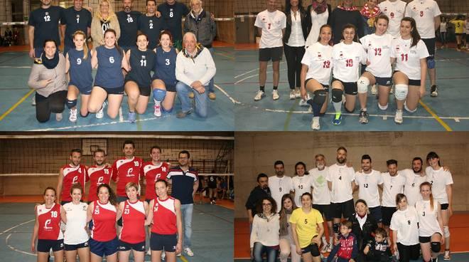 Nella seconda serata del Torneo dei Borghi di Volley arrivano i primi verdetti