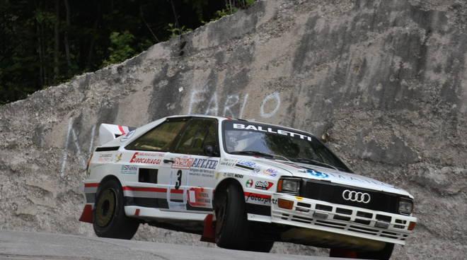 La Balletti Motorsport al via del Dolomiti Historic con l'Audi Quattro