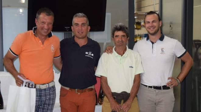 Al Golf Feudo di Asti la tappa piemontese dalla ''Gold Jacket Goldenfour''