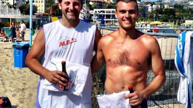 Beach Tennis: Davide Chicarella e Luca Barberis secondi al Torneo di Sanremo