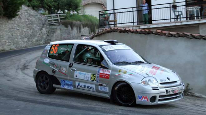Moscato Rally sfortuna per l'equipaggio rosa del Vm Motor Team Grosso-Lavagno