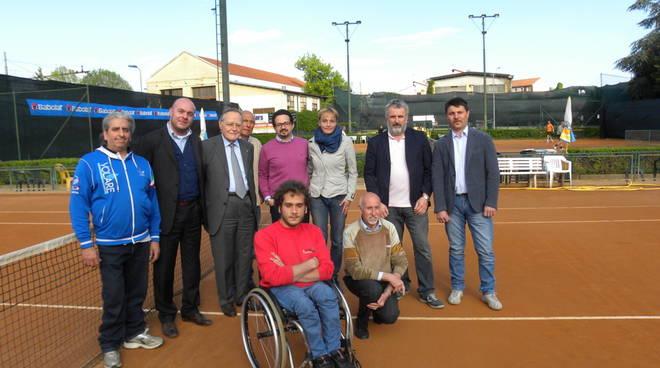 Sabato al Dlf Asti il raduno di tennis in carrozzina con il ''Progetto opportunità sport per tutti''