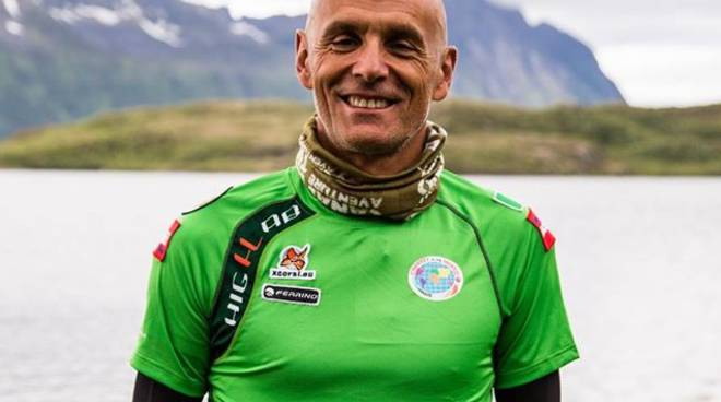 Uno stoico Gianfranco Tartaglino è secondo all'Ultra Norway Race