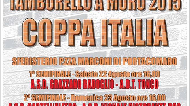 Tutto pronto a Portacomaro per la fase finale della Coppa Italia di Tambass