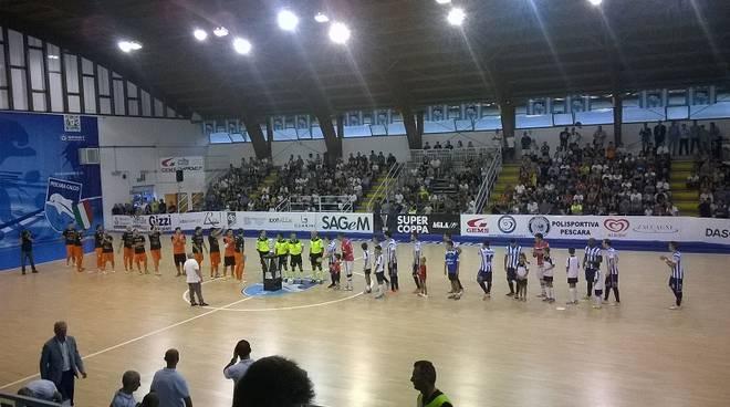 Il Pescara si aggiudica la Supercoppa di Futsal, Orange Futsal ko