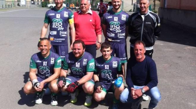 Pallapugno: terza vittoria consecutiva per il Bubbio nel campionato di serie B