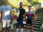 Denis Carlevero e Andrea Gallo salgono sul podio della cronometro di Vascagliana