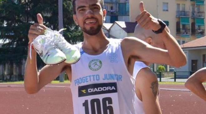 Jido Ed Derraz vola alla Serata del Mezzofondo di Alba