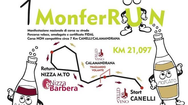 Il 26 febbraio arriva la MonferRun, di corsa tra i paesaggi patrimonio dell'Unesco
