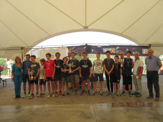 Campionati Studenteschi Regionali Orienteering 2017-15