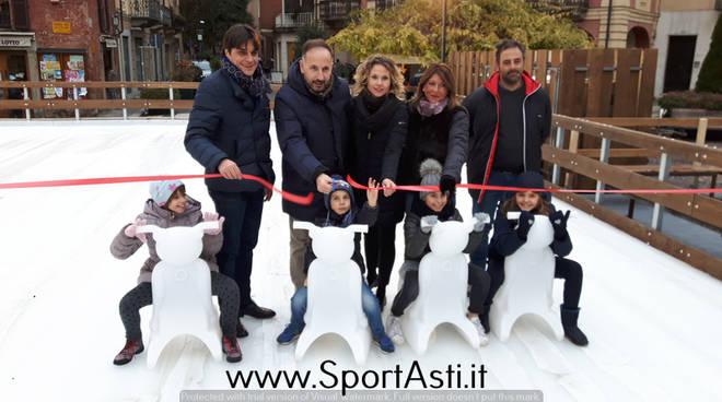 Inaugurazione Pista pattinaggio Asti 2017