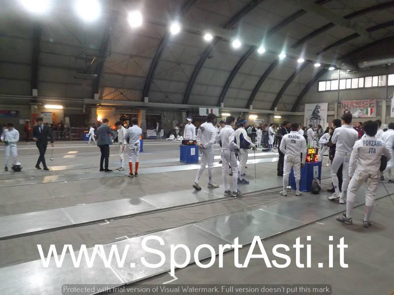 Gare Scherma 2018 Asti