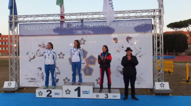 podio sotero trofeo nazionale triathlon tetrathlon 28012018