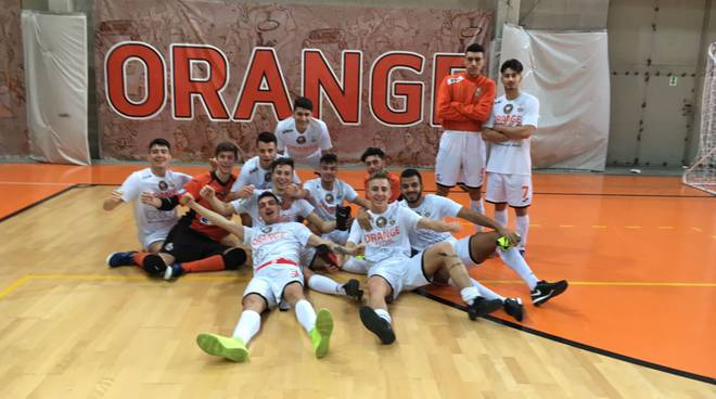 under 19 orange futsal campione regionale