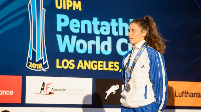 alice sotero podio los angeles coppa mondo