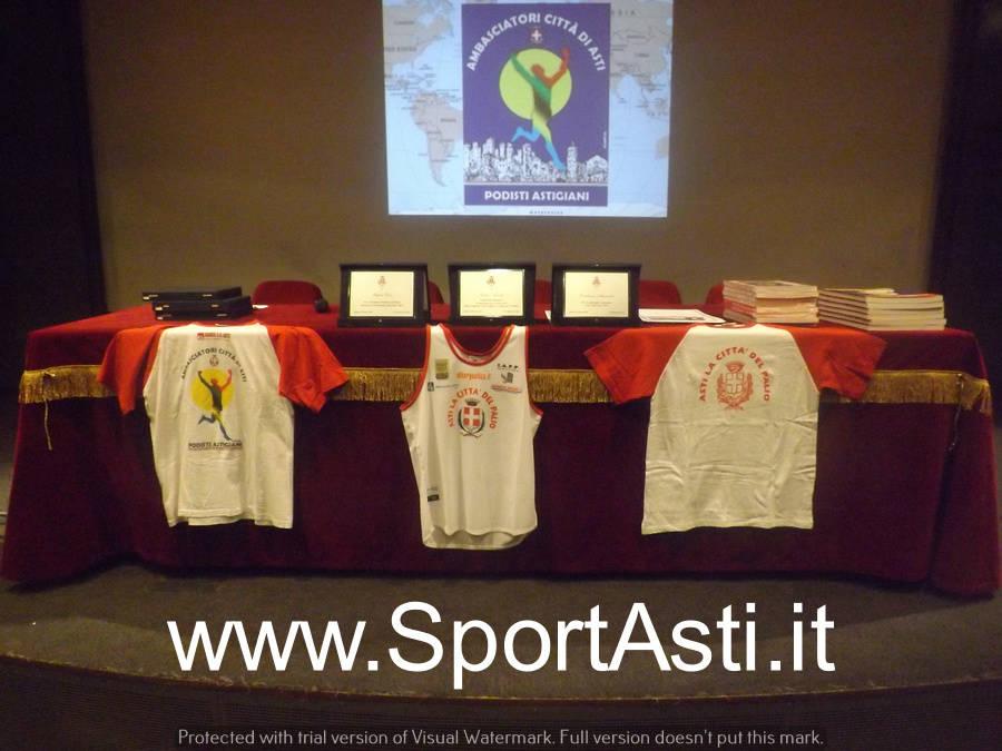 Premiazione Ambasciatori Città di Asti 2018