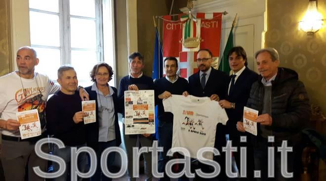 Presentazione mezza Asti 2018
