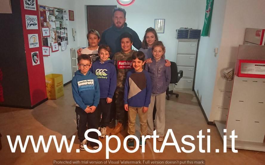 Rugby: Andrea Lovotti ad Asti