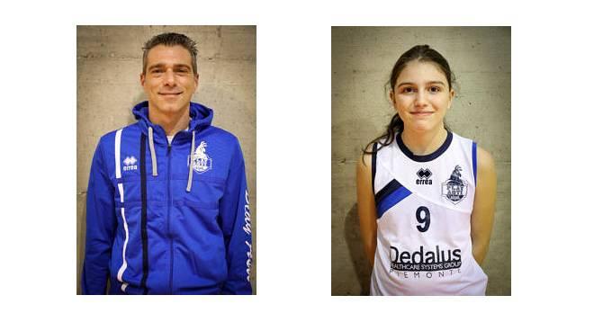 giovanili play asti coach Zarantonell e Stiffi Sara