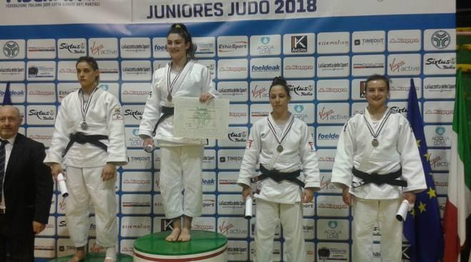 silvia pellitteri campionessa italiana juniores 2018