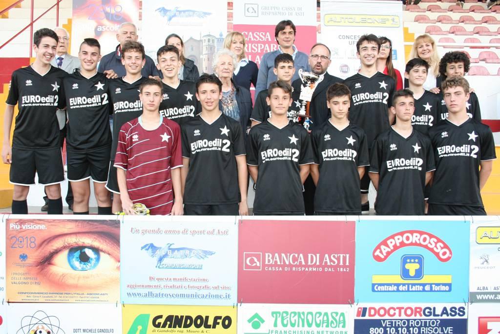 Torneo di Asti Giovanissimi 2018 Memorial Piero Mentigassa