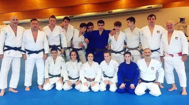 nazionale cadetti judo con ottavia musso