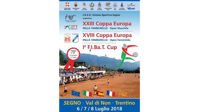 locandina coppa europa 2018