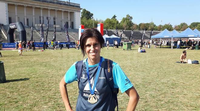 Claudia Solaro Salomon running