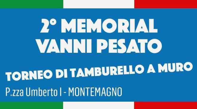 memorial vanni pesato locandina