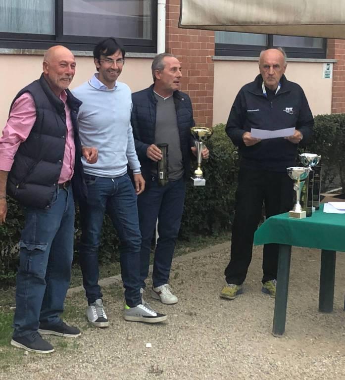 Premiazione Campionati provinciali Tennis 2018