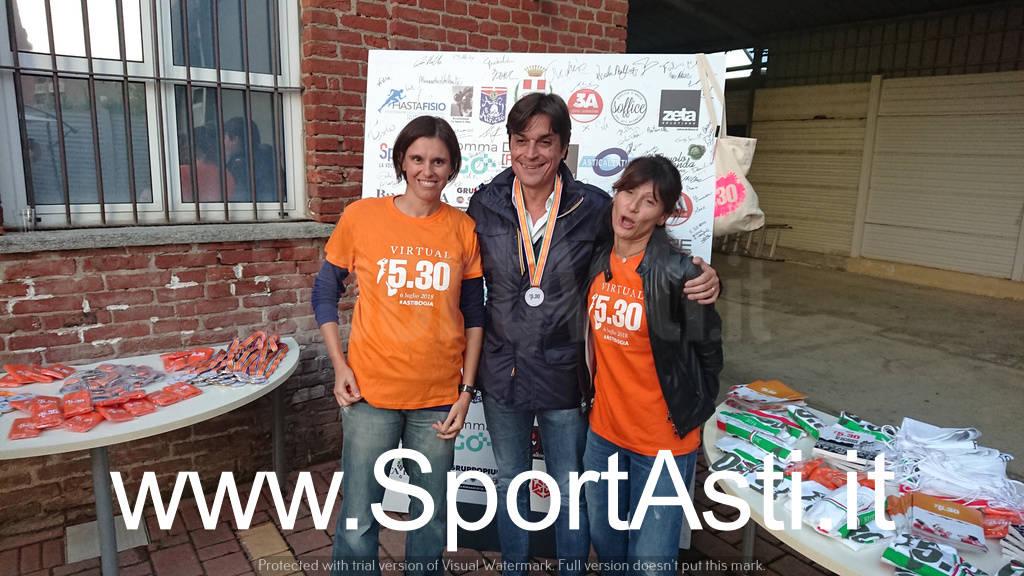 Premiazione Run 5.30 2018 Asti