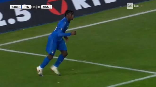 moise kean esordio nazionale italiana