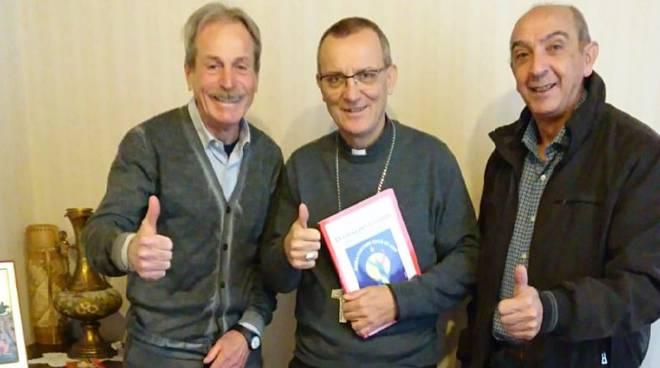 ambasciatori con vescovo di asti