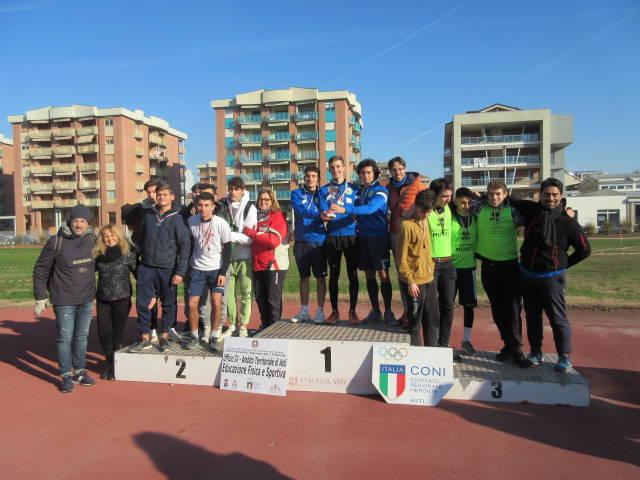 Campionati Studenteschi Corsa Campestre 2018 Scuole Superiori I e II grado Asti