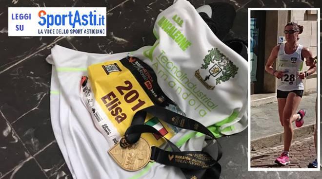 elisa stefani maratona valencia