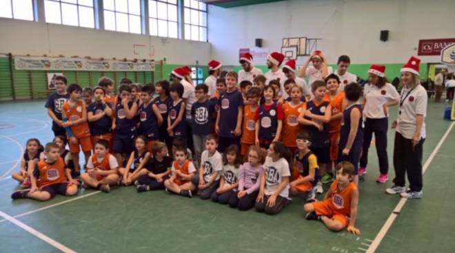 Festa di Natale 2018 Minibasket SBA