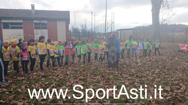 Campionati Provinciali di Cross giovanili 2019 Asti