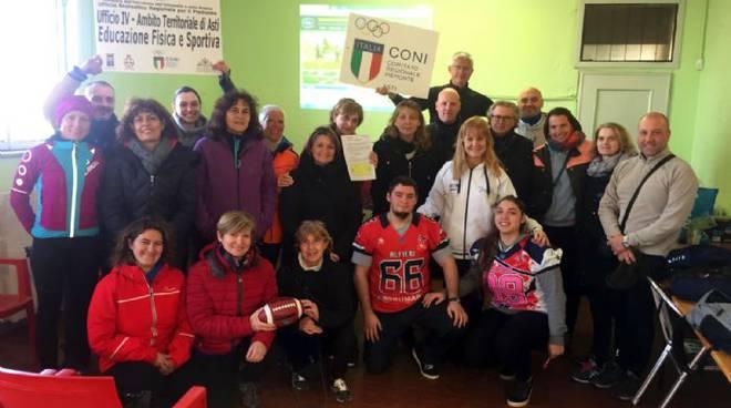 Football Americano nelle scuole di Asti