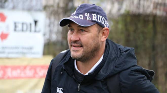 marco rossini coach cadetta monferrato rugby