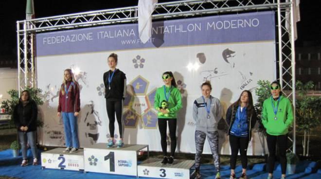 podio martinescu trofeo nazionale 16022019