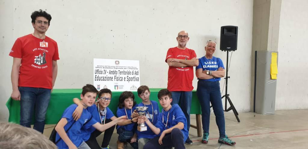 Campionati Studenteschi di Scacchi 2018/19 Asti