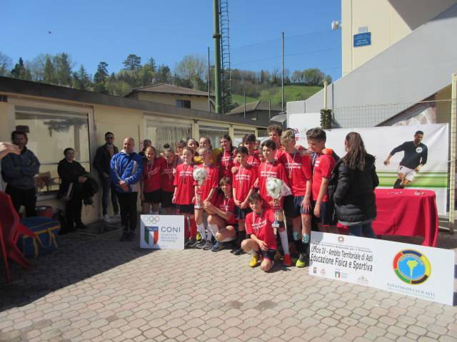 Campionati Studenteschi Calcio a 5 Scuole Medie 2019
