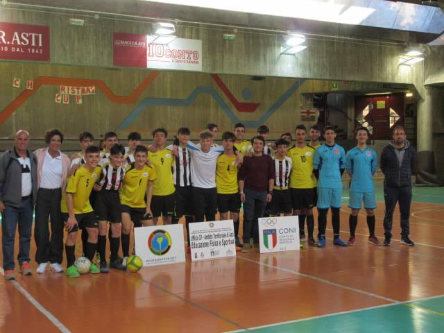 Campionati Studenteschi di calcio a 5 2018/19 Scuole Superiori Asti