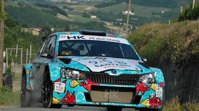 Alessandro Re e Fulvio Florean rally vesimesi 2018